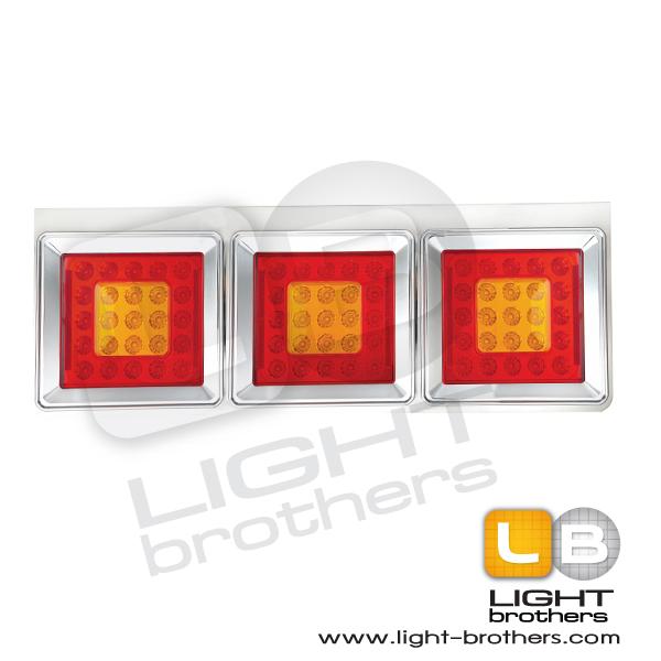 ไฟท้าย LED สแตนเลส 1