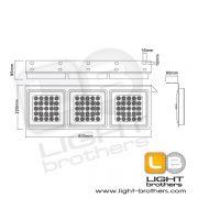 ไฟท้าย LED สแตนเลส 3
