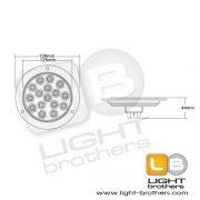ไฟท้าย LED สแตนเลส 7