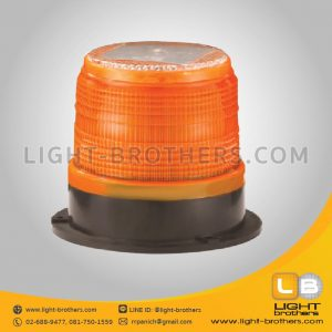 warning light led 5 inch solar cell  (1)