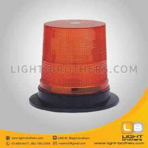 ไฟไซเรน LED แบบ 3 ฟังก์ชั่น กลม 7 นิ้ว สีเหลือง