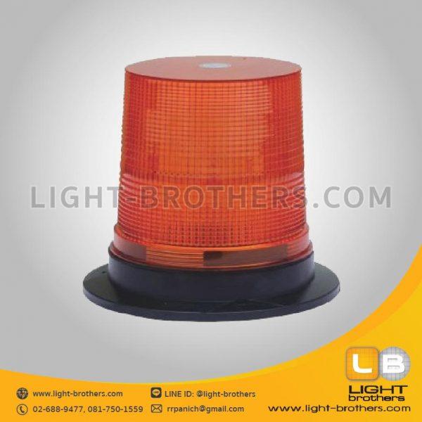 ไฟไซเรน LED กลม 7 นิ้ว สีเหลือง