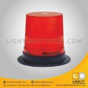 ไฟไซเรน LED แบบ 3 ฟังก์ชั่น กลม 7 นิ้ว สีแดง