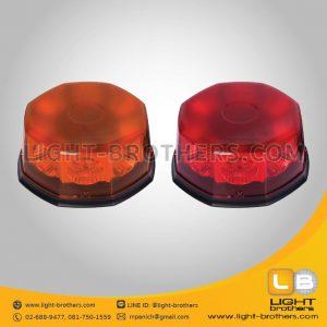 ไฟไซเรน LED 8 เหลี่ยม คุณภาพดี