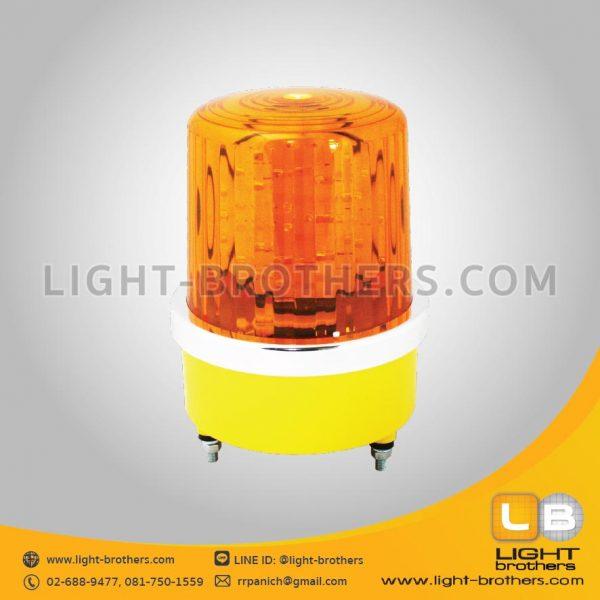 ไฟไซเรน LED แบบหมุน ทรงกลม 1 ฟังก์ชั่น ราคาโรงงาน