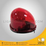 ไฟไซเรน LED ทรงหยดน้ำ - แบบ 3 ฟังก์ชั่น สีแดง