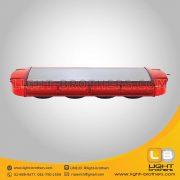 ไฟไซเรน LED ทรงยาว 4 ตอน สีแดง